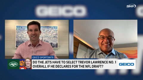 Mike Tirico talks about the future of Trevor Lawrence: Will he land in New York?