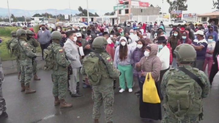 Ecuador prison riots sparked by rival gangs leave 18 inmates dead