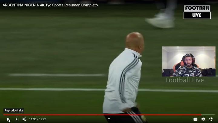 """El Agüero más ácido contra Sampaoli """"Debería haber doping para entrenadores"""""""