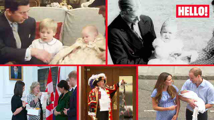 ITN VIDEO Royal Baby Reveals - Past & Present - Mini doc