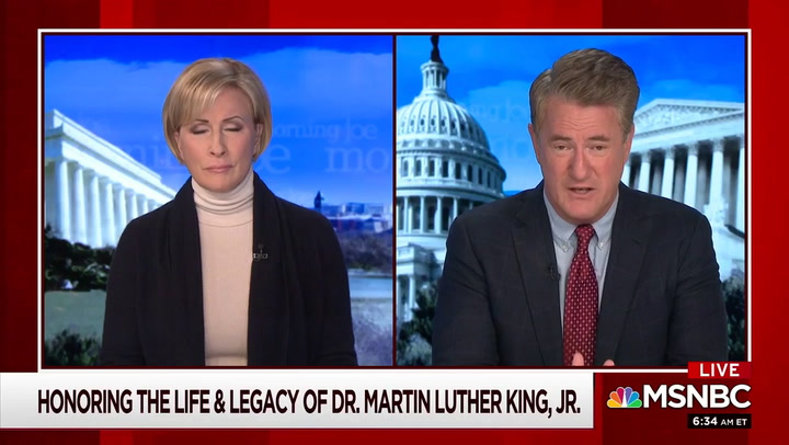 Scarborough: If U.S. Capitol Rioters Had Been Black 'They Would Have Been Shot in the Face and Killed'