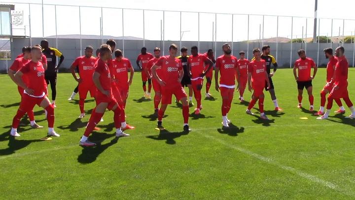 Sivasspor, Alanyaspor Hazırlıklarını Sürdürdü