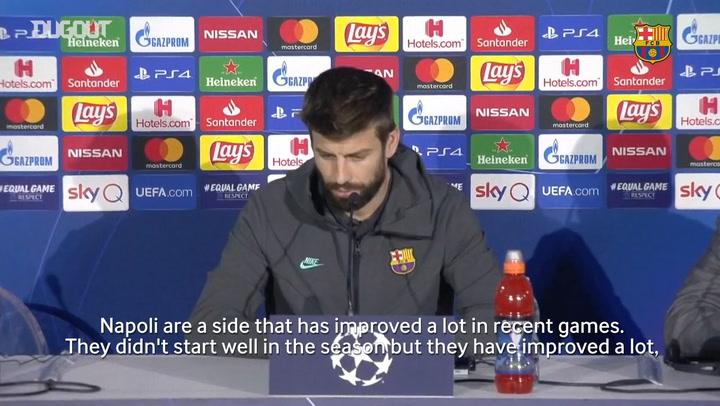 Gerard Piqué 'Napoli have beaten Juventus and Liverpool'