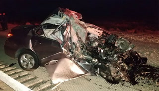 1 dead in wrong-way crash on I-15 near Jean – VIDEO