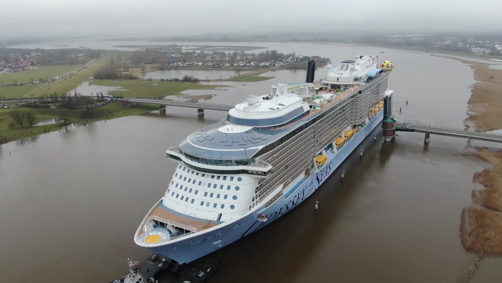 Odyssey of the Seas -- From Steel Cutting to Delivery 2021