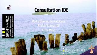 La consultation IDE et le parcours patient