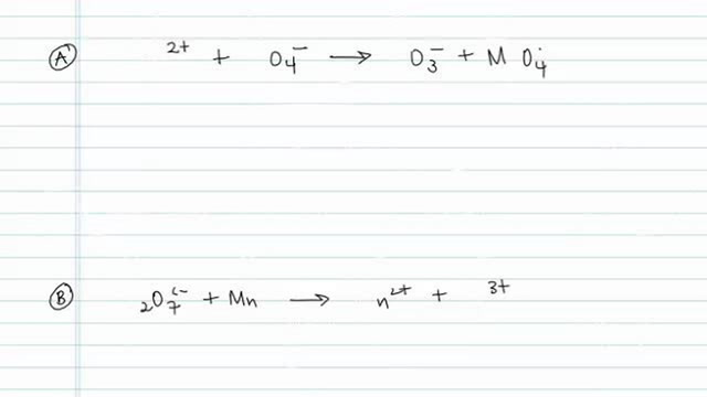 Balancing Redox Reactions Using Oxidation Number Method
