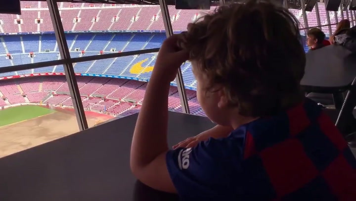 Un niño narra un gol de Jenni Hermoso