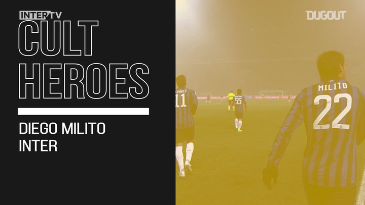 Cult Heroes: Diego Milito