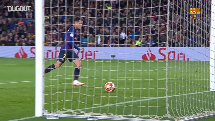 Team Goals: Philippe Coutinho Vs Lyon