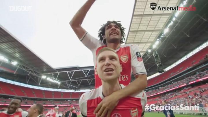 Santi Cazorla's best off-field Arsenal moments