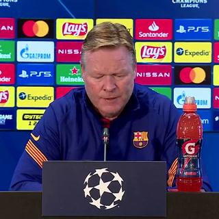Koeman deja fuera a Messi y otro crack de su convocatoria para la Champions: