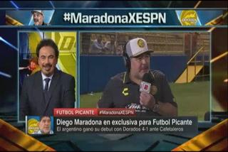Maradona prefiere los goles de Hugo Sánchez antes que los de Cristiano
