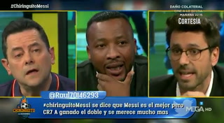 ¡Se encendieron en el Chiringuito! Roberto Morales hace enojar a Tomás Roncero
