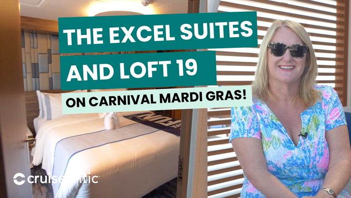Excel Suite and Loft 19 of the Mardi Gras Carnival