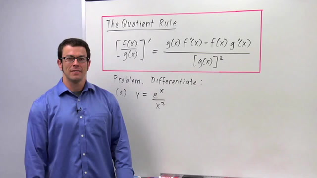 The Quotient Rule - Problem 1