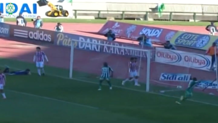 Throwback: Mouhcine Iajour opens the scoring in the Casablanca derby versus Wydad Club Athletic