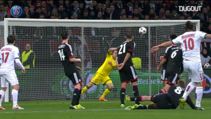 Zlatan Ibrahimović's Best Paris Saint-Germain Moments