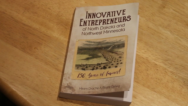 A new book is celebrating the entrepreneurial spirit of farmers in the region.