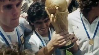El homenaje que hacer llorar a los argentinos tras la muerte de Maradona