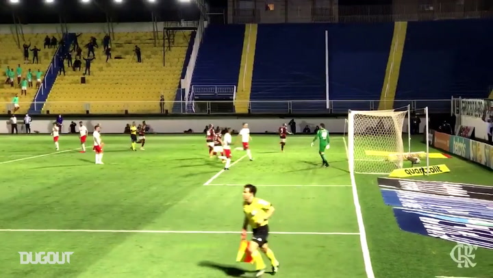 Flamengo draw against Red Bull Bragantino in the Brasileirão Serie A 2020