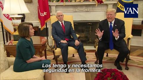Trump amenaza con cerrar el Gobierno si no le dan el dinero para su muro