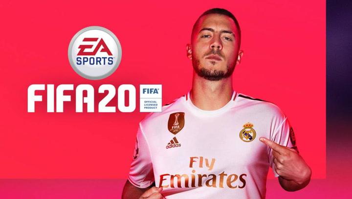 Hazard, portada del FIFA 20