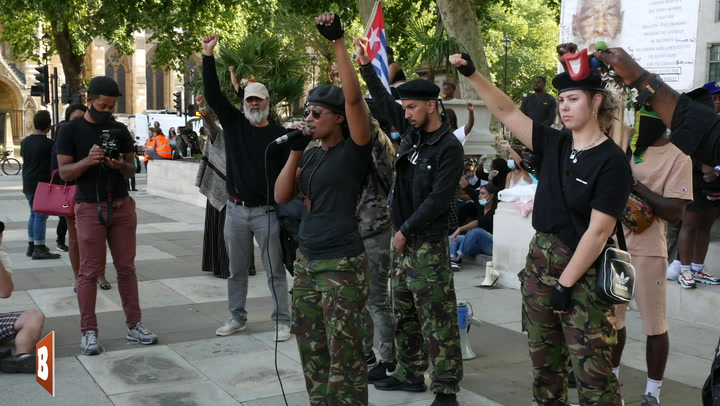 'The Police Is No Different from the KKK': BLM Activist Calls for Revolution in the UK