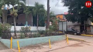 Vacunación comunitaria contra el covid-19 en colonia Las Palmas