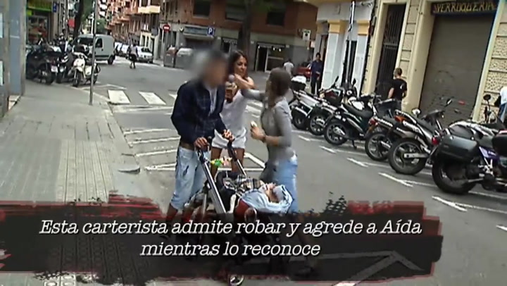 La agresión a Aída Nizar en Barcelona