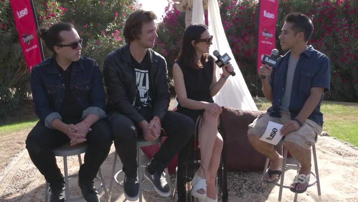 Coachella 2015:  HAERTS Speaks Out From Coachella Valley