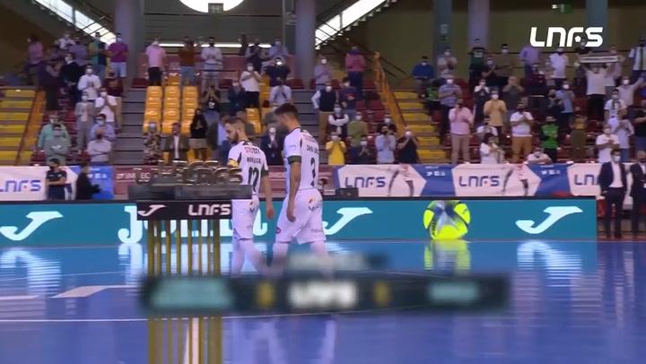 LNFS: Cordoba Patrimonio - Barça  3-1 (jornada 4 Temp 20-21)
