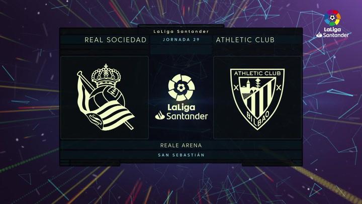 LaLiga Santander (J29): Resumen y goles del Real Sociedad 1-1 Athletic