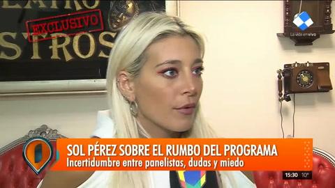 Sol Pérez contó que por los maltratos de Barbie Simons se iba llorando a casa