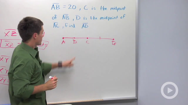 Midpoints and Congruent Segments - Problem 2