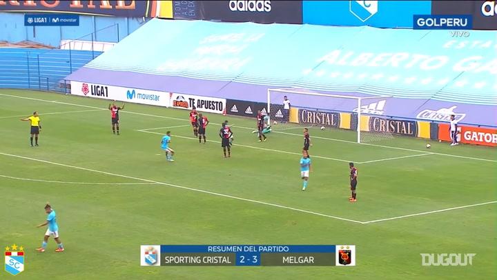 Christofer Gonzáles's bicycle kick goal vs Melgar