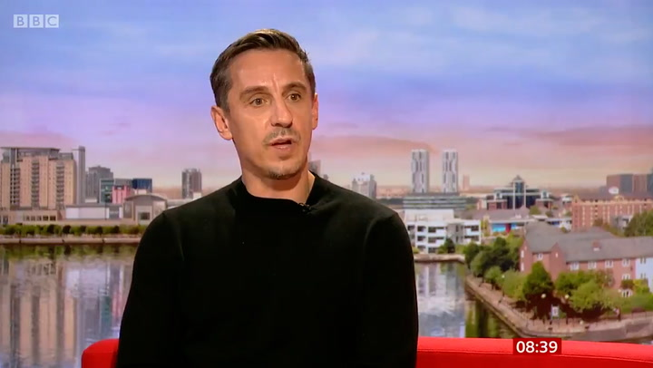 'We may have to pop back': Gary Neville on starting career in politics