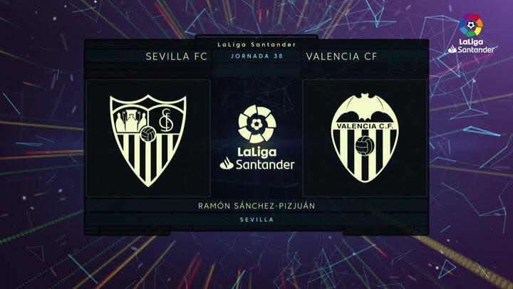 LaLiga (J38): Resumen y gol del Sevilla 1-0 Valencia