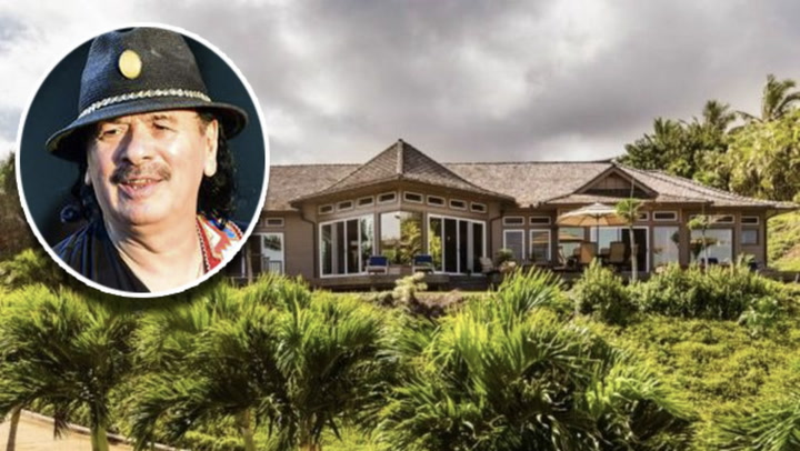 Carlos Santana Buys a Luxurious Hawaii Retreat for $2.7M