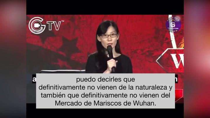 Li-Meng Yan ha afirmado que la COVID-19 proviene de un laboratorio militar de China