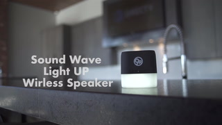 Sound Wave Light Up Wirless Speaker