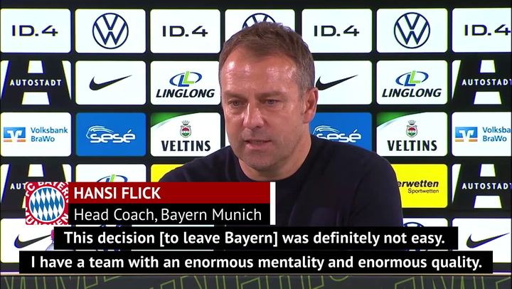 Departing Flick will 'always be thankful' to Bayern