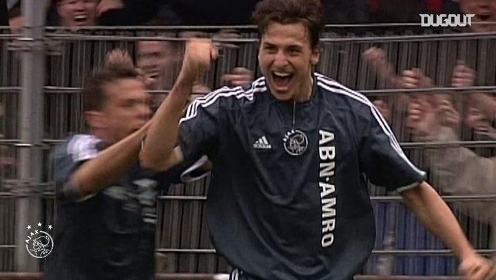 Zlatan Ibrahimovic'in Ajax Kariyerinin Başlangıcı