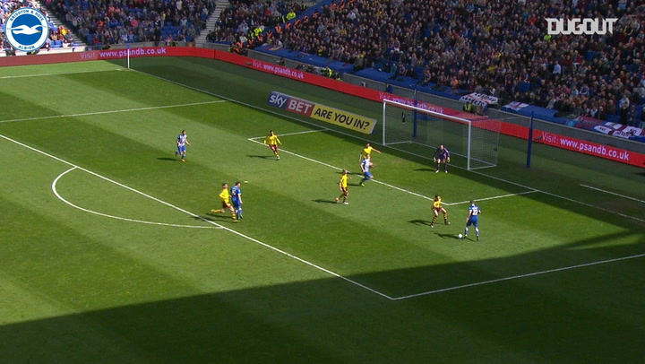 Knockaert shows tremendous skill to score against Burnley