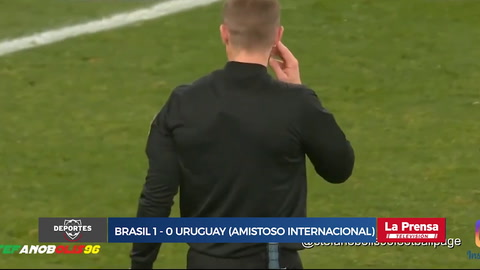 Brasil 1-0 Uruguay (Amistoso internacional)