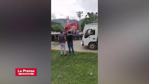 Trágico accidente deja al menos un muerto en Choloma