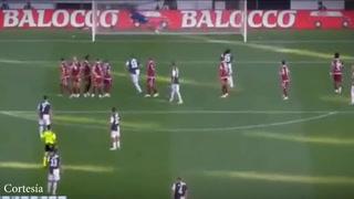 Así fue el golazo que anotó Cristiano Ronaldo este sábado con la Juve