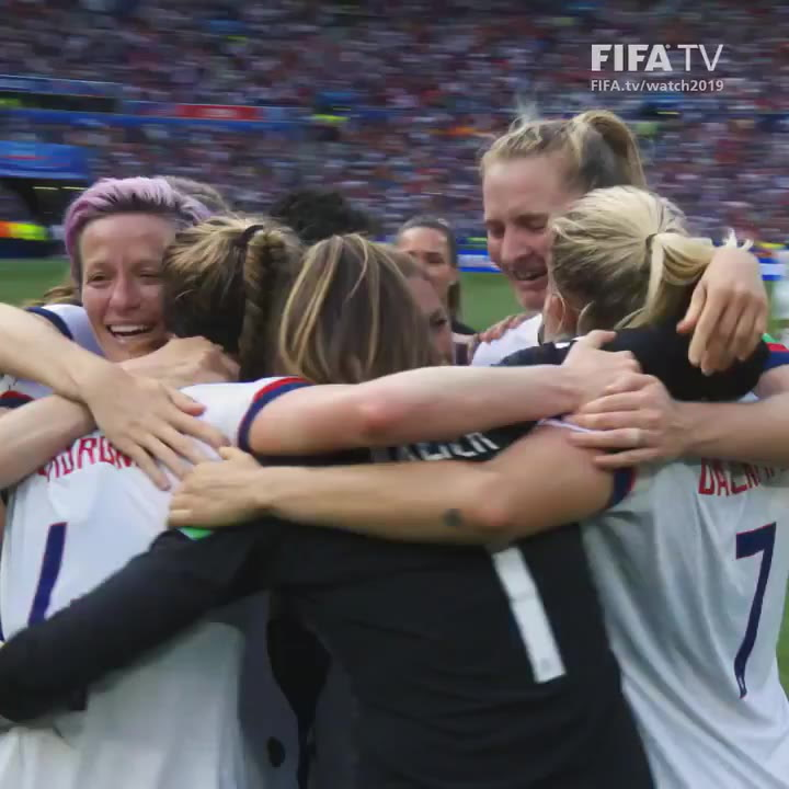 Estados Unidos celebra su Mundial Femenino