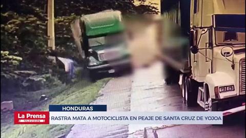Otra tragedia en el peaje de Santa Cruz motociclista muere arrollado por rastra