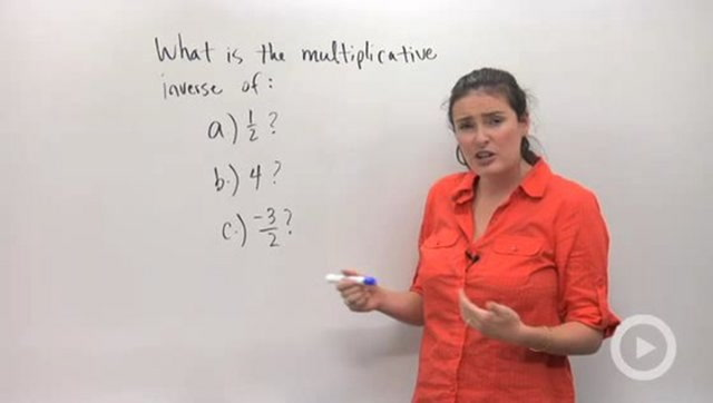 Additive and Multiplicative Inverses - Problem 2